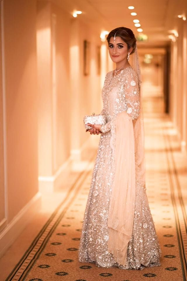 Gorgeous Bridal Engagement Dresses Designs 2018 For Brides
