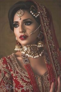 Stylish Bridal Makeup 2017