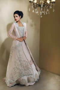 latest bridal wear dress 2017 for engagement