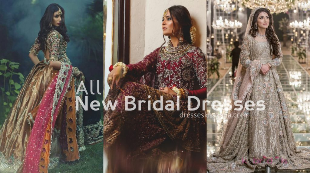 All New Bridal Dresses Collection for Bride Wear