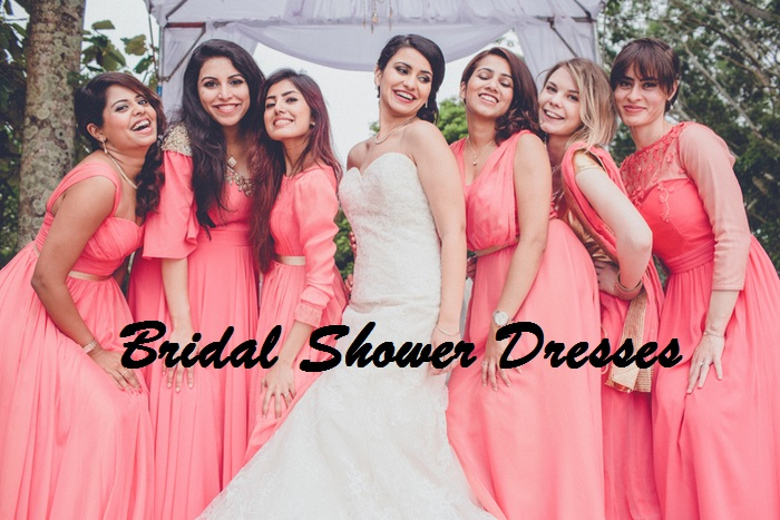 Best bride shower Dresses