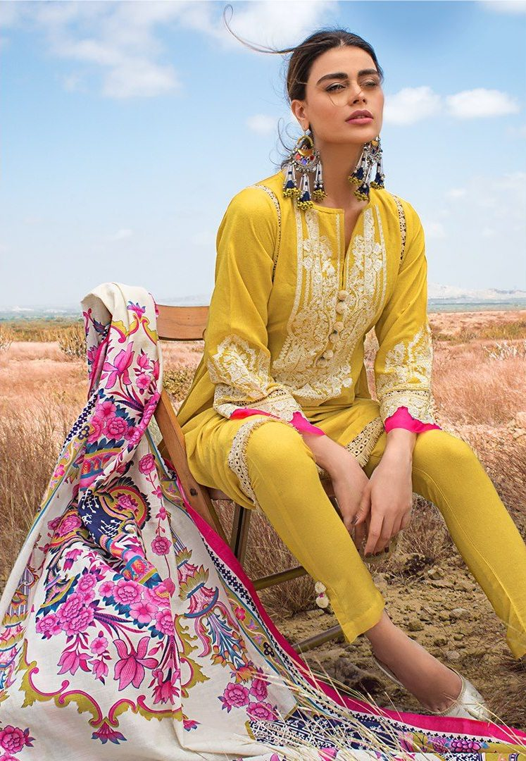 Khaadi 3 Piece Unstitched Collections