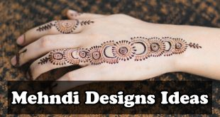 New Mehndi Designs Ideas