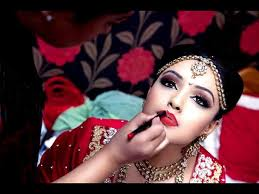 bridal makeup lipstick