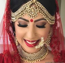 bridal makeup lipstick