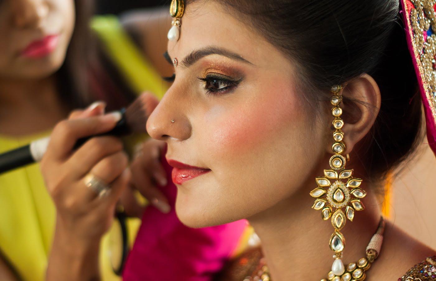 indian bridal makeup steps