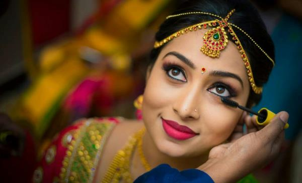 indian bridal makeup steps