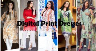 Digital Print Dresses