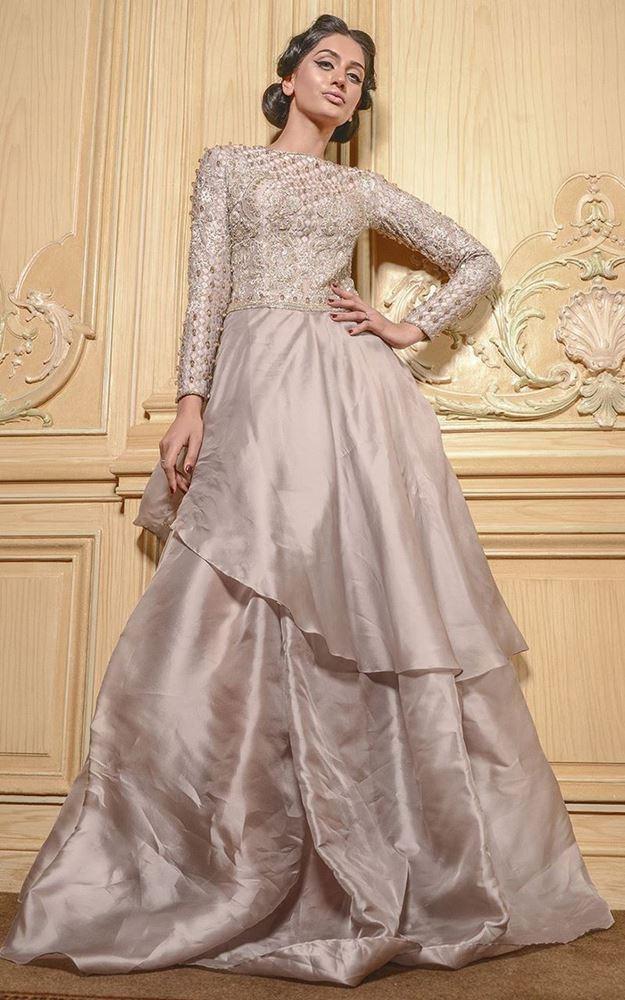 Grace full Engagement Dresses for Bride