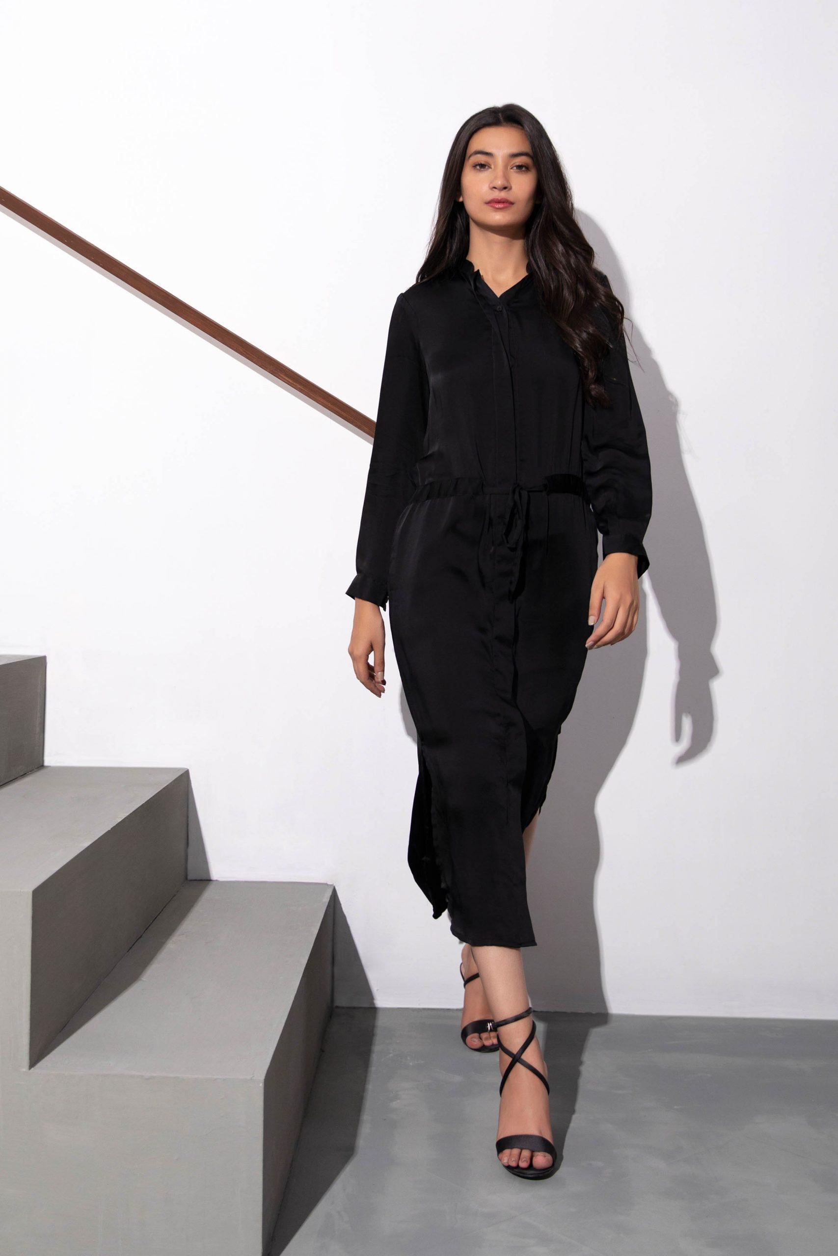 Latest Black Dress for Girls