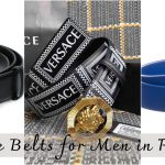 Versace Belts – Medusa Palazzo Buckles Belts Sale in Pakistan