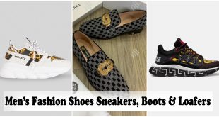 Versace Shoes - Men's Fashion Shoes Sneakers, Boots & Loafers