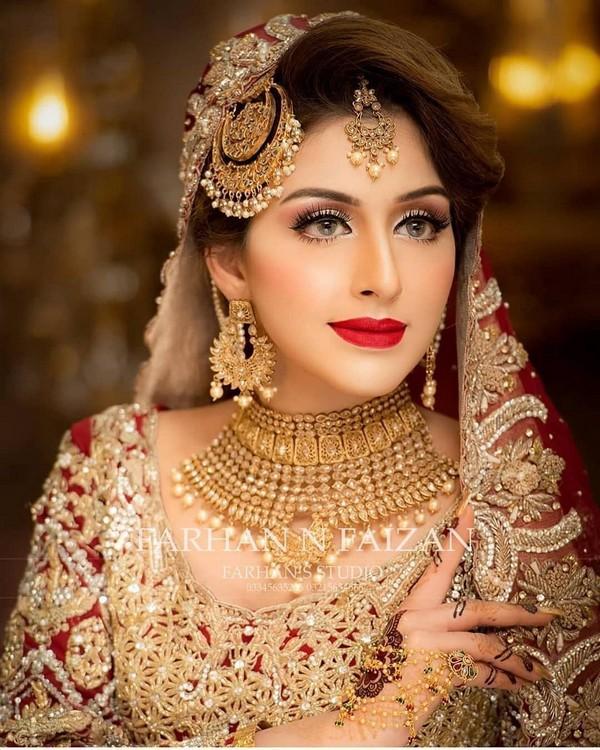 barat bridal makeup