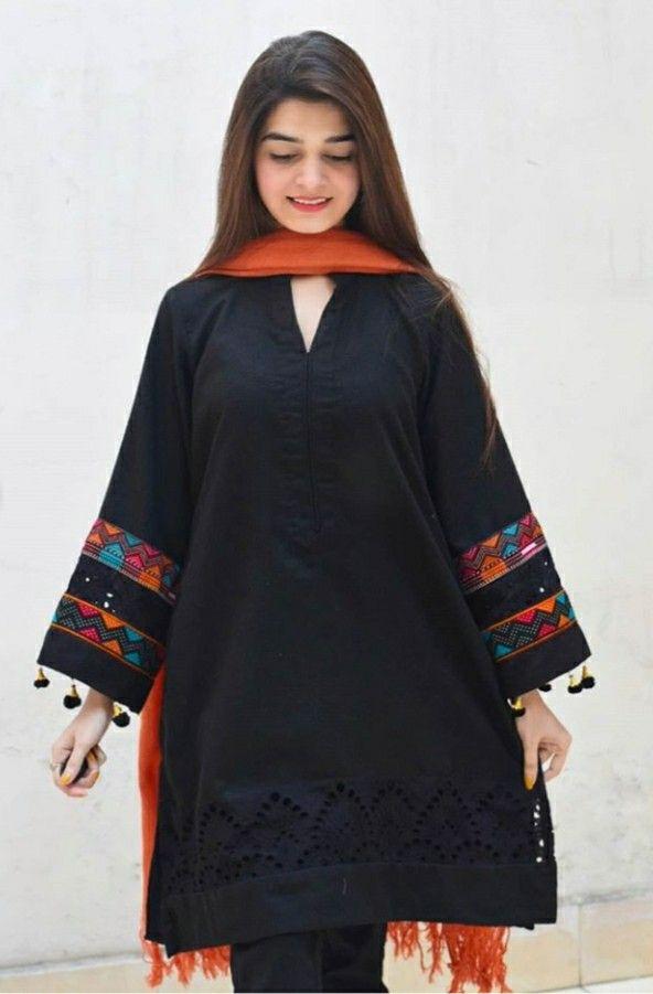 black kurti
