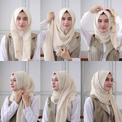 hijab step by step