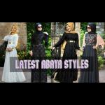 latest abaya styles