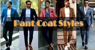 pant coat styles