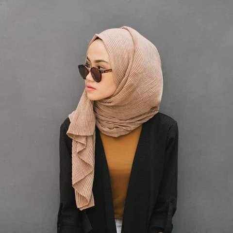 side braid hijab