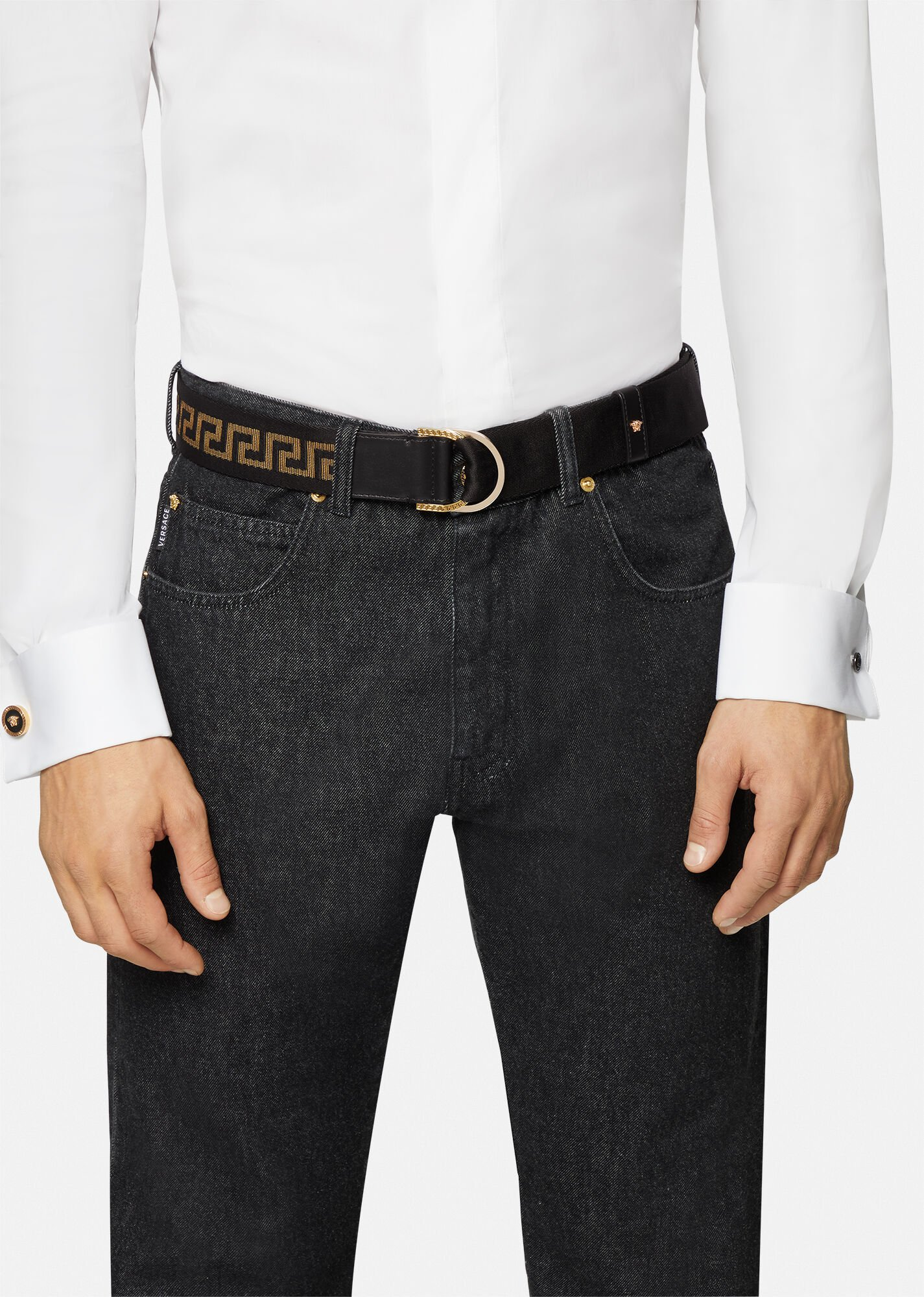 versace belts