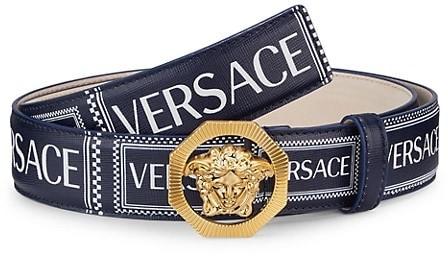 versace medusa buckle belts