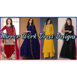 mirror work dress designs