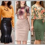 pencil skirt with top